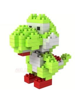 Juego de montaje dinosaurio Yoshi 130 piezas