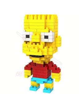 Juego de montaje Bart Simpson 200 piezas