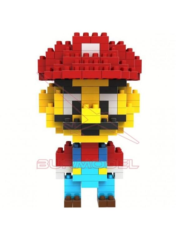 Juego de montaje Mario Bros 160 piezas