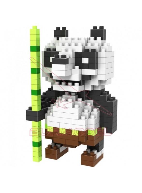 Juego de montaje Oso Panda 200 piezas