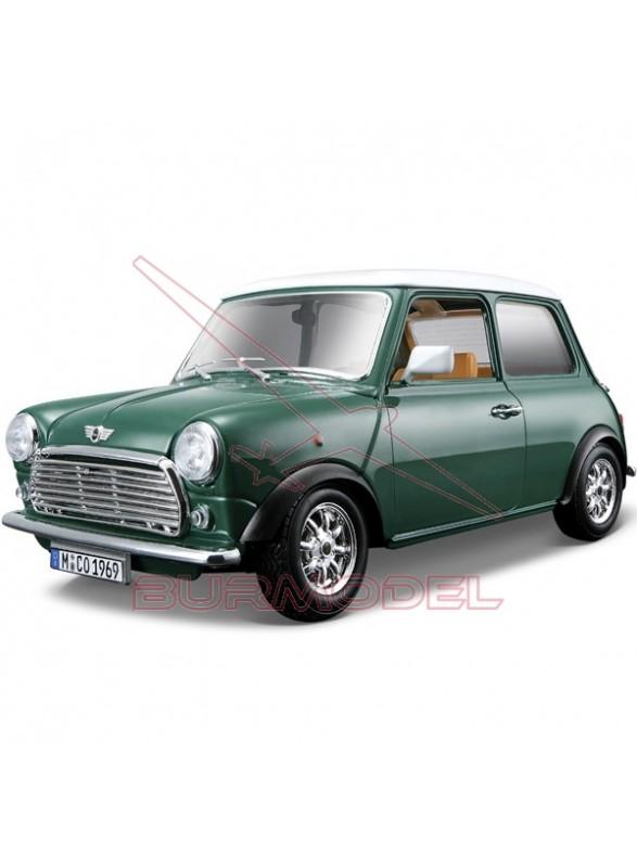 Réplica Mini Cooper año 1969 escala 1/18