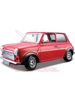 Maqueta montada Mini Cooper 1969 color rojo 1/24