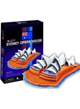 Puzle 3 dimensiones Opera de Sidney 58 piezas