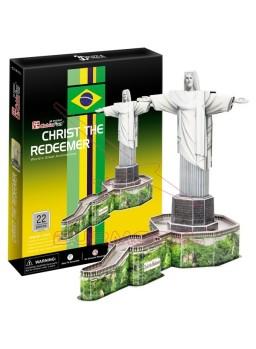 Puzzle 3 Dimensiones Cristo Salvador 22 piezas