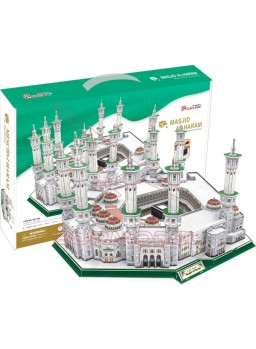 Puzzle 3D Masjid Al-Haram 249 piezas