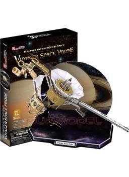 Puzzle 3D sonda espacial Voyager 71 piezas