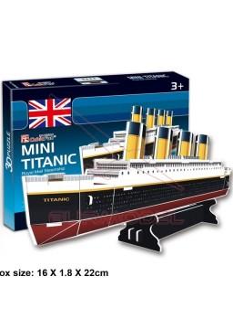 Puzzle 3 dimensiones Titanic 30 piezas