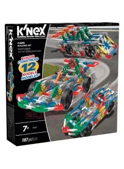 K'Nex Juego de construcción vehículos 12 en 1 187 piezas