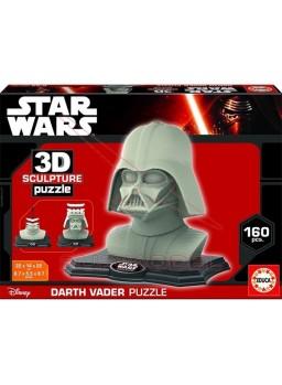 Puzzle Darth Vader 3 dimensiones 160 piezas
