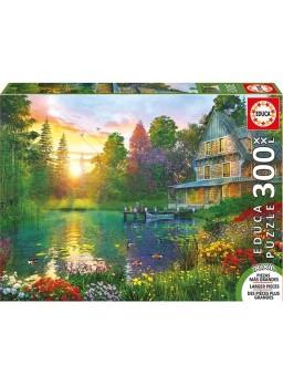 Puzzle 300 piezas xxl Puesta de sol