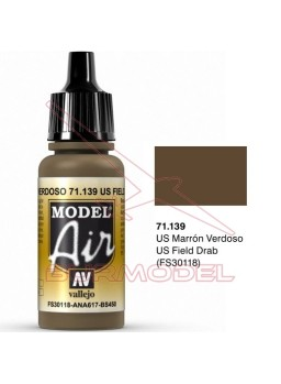 Acrílico Vallejo Marrón Verdoso 17ml