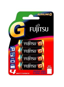 Pila alcalina Fujitsu AA (4 unidades)