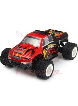 Coche Truggy escala 1/24 2.4GhZ