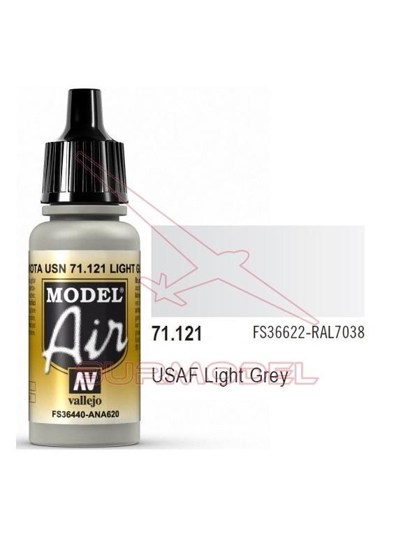 Pintura acrílica Vallejo Model Air gris claro