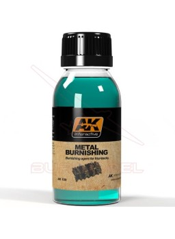 Bruñidor de metales (Metal Burnishing) 100ml AK