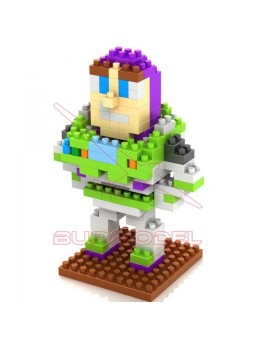 Juego montaje personaje Buzz Toy Story 190 piezas