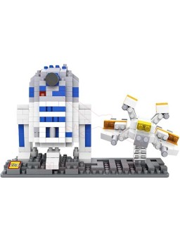 Juego montar R2D2 Star Wars 370 piezas