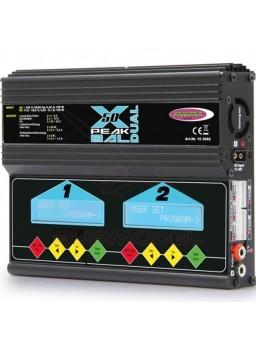 Cargador programable para dos baterías Jamara X-Peak 50