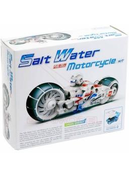 Juego construir moto que funciona con agua salada