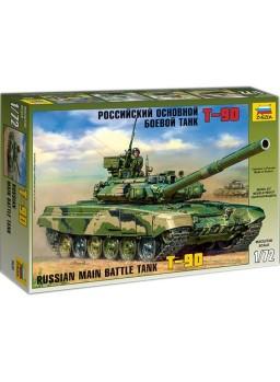 Maqueta tanque ruso T-90 escala 1/72