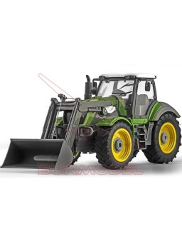 Tractor radio control con movimiento de pala 1/28