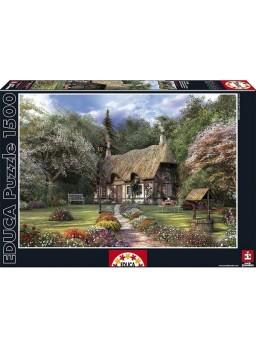 Puzzle 1500 piezas La Casa de las Rosas, D Davison