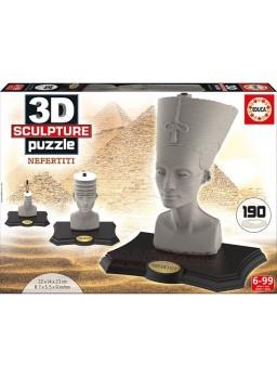 Puzzle 3 dimensiones Nefertiti 190 piezas