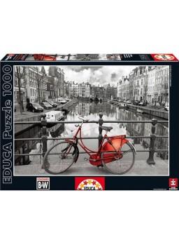 Puzzle 1000 piezas Amsterdam B&W