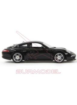 Réplica Porsche 911 Carrera S escala 1/24 negro
