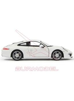 Réplica Porsche 911 Carrera S escala 1/24 blanco