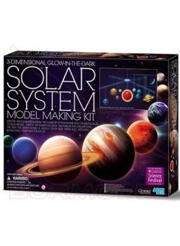 Kit sistema solar móvil 3D