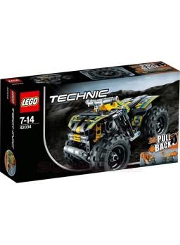 Lego Technic Quad con accionamiento por fricción