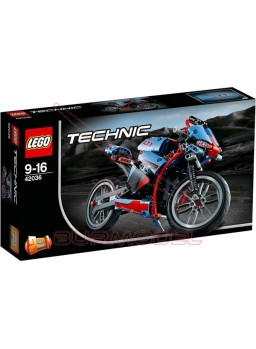 Lego Technic moto de calle y moto retro 2 en 1