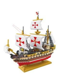Juego de construcción Barco Santa María 2660 piezas