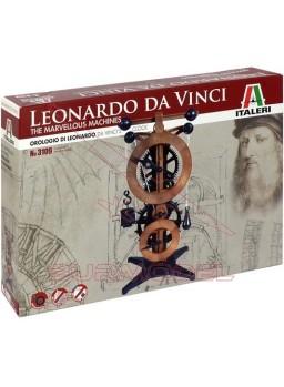 Maqueta reloj Leonardo Davinci