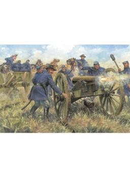 Figuras artillería Guerra Civil Americana 1/72