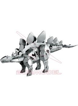 Juego de montaje Dinosaurio Stegosaurus de metal