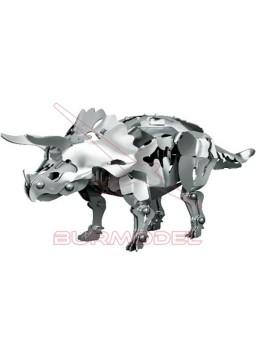 Juego de montaje Dinosaurio Triceratops de metal