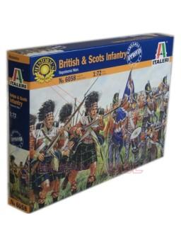Figuras soldados Británicos y Escoceses 1/72