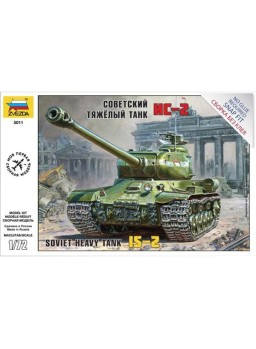 Tanque soviético IS-2 (Stalin-2) 1/72