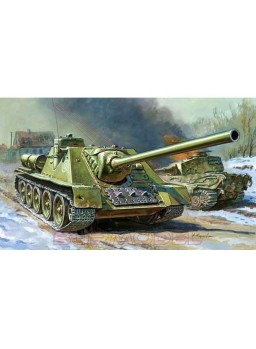 Tanque destructor soviético SU-100 1/72