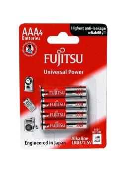 Pila AAA R-3 alkalina Fujitsu 1,5V