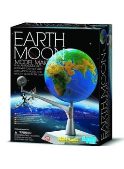 Juego científico Planeta Tierra y Luna 4M