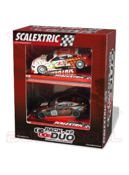 Coches Scalextric Aston Martin Vantage-Audi A5 DTM