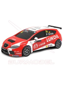 Coche Scalextric Seat León TCR Oriola
