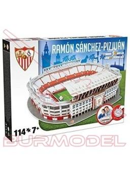 Puzzle 3D Estadio Sevilla Ramón Sánchez-Pizjuán