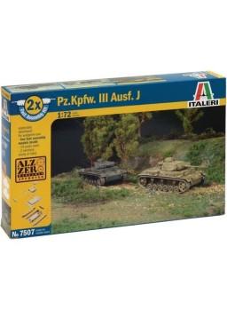 Set de tanques 1/72 Panzer Kpfw. III Ausf. J
