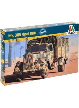 Maqueta Opel Blitz Kfz.305 escala 1/72 WWII