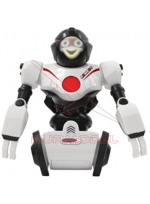 Robibot Robot por bluetooh blanco-rojo
