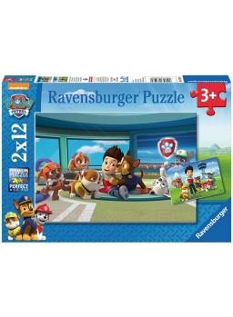 Puzzles Patrulla Canina 2x12 piezas